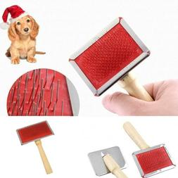 Pet Dog Cat Hair Brush Pin Fur Grooming Trimmer Comb Tool Fo