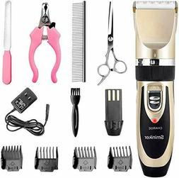 Professional Pet Grooming Clippers - Dogs and Cats  - Rechar