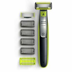 Philips Norelco OneBlade Face/Body hybrid electric trimmer a