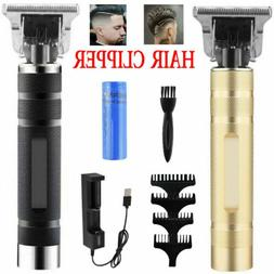Portable Electric T-outliner Cordless Hair Clipper Trimmer C