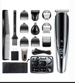 HATTEKER Pro Hair Trimmer Hair Clippers Beard Trimmer Men's