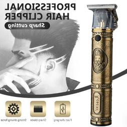 Pro Men Electric Hair Clipper Cordless Oil Head Trimmer Hair