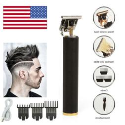 Pro Real Zero Gapped Cordless T-Outliner Clipper Electric Ha