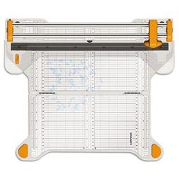 Fiskars Procision Bypass Rotary Trimmer, 50 Sheets, Plastic,