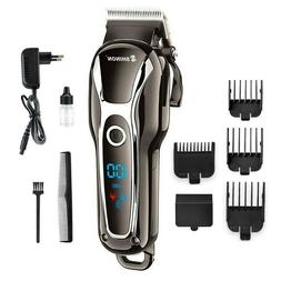 Professional Digital Hair Trimmer Rechargeable Electric Hair