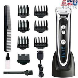 Professional Electric Hair Clippers Set for Men Facial Musta