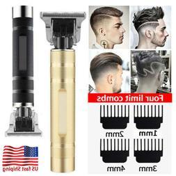 Professional Electric Men's Zero Gapped Hair Clipper Cordles