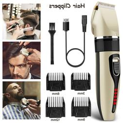 Professional Hair Clippers Trimmer Mens Barber Hair Cutting