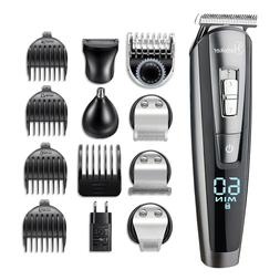 Professional Hair Trimmer HATTEKER RFC-58805 Waterproof 5 in