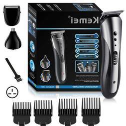 Professional Men Electric LCD Hair Clipper Trimmer Haircut M