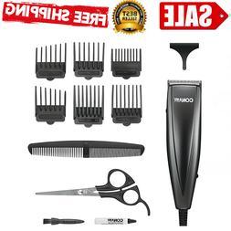 Conair Professional Men Hair Clippers Home Cutting Barber Ki