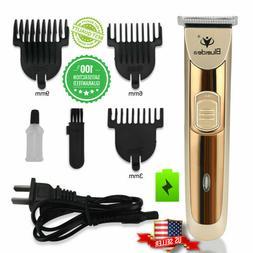 Rechargeable Electric Men Hair Cut Clipper Shaver Trimmer Gr