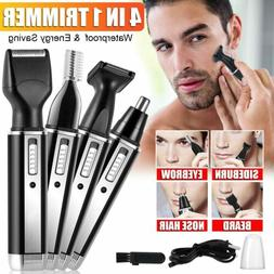 Rechargeable Hair Trimmer Electric Mens Cordless Body Hair E