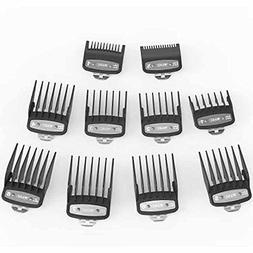 salon comb set cutting guides