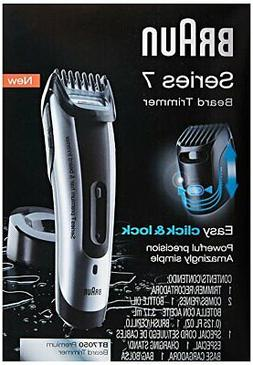 Braun Series 7-7050 Beard Trimmer, 1 ea