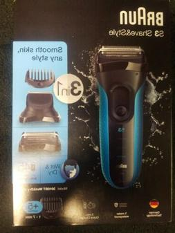 Braun Series 3 Shave 3010BT Rechargeable Electric Foil Shave