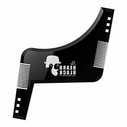 Beard shaping & styling tool with inbuilt comb for perfect l