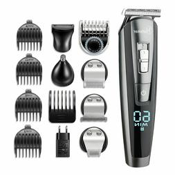Surker 3 in 1 Men Electric Rechargeable Clipper & Nose Trimm