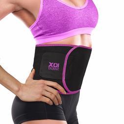 Sweet Sweat Waist Trimmer Belt Easy Fat Burn Weight Loss Wor