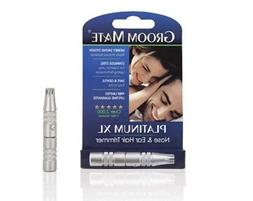 Trimmer Nose Hair Remover Groom Mate Platinum XL Nose Ear Ha