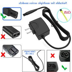 Trimmer Shaver AC Adapter Norelco Charger Power Cord for Phi