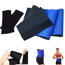 Waist Trimmer Belt for Women Men, Fitness Weight Loss Belt S