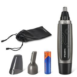Upgraded SUPRENT Nose & Ear Hair Trimmer, Wet/Dry Nose Hair