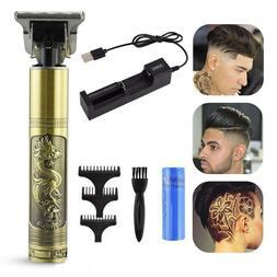 USB Charger Hair Clipper Powerful Cutting Machine Beard Barb