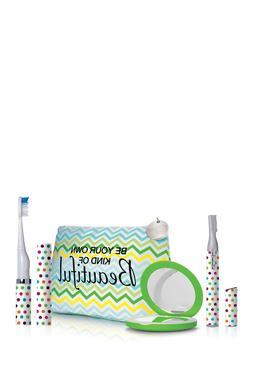 Violife Viossentials 3pc Set -Toothbrush, Trimmer, Mirror &