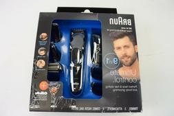 Braun Wet/Dry Trimmer with 4 Guide Combs New Damaged Package