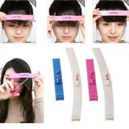 Women Hair Trimmer Fringe Cut Tool Clipper Comb Guide Access