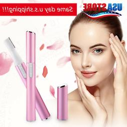 Women Personal Ear Nose Neck Eyebrow Hair Trimmer Groomer Re